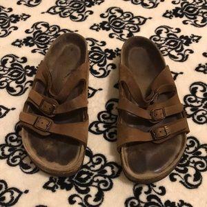Brown Birkenstock Sandals Sz:7.5-8
